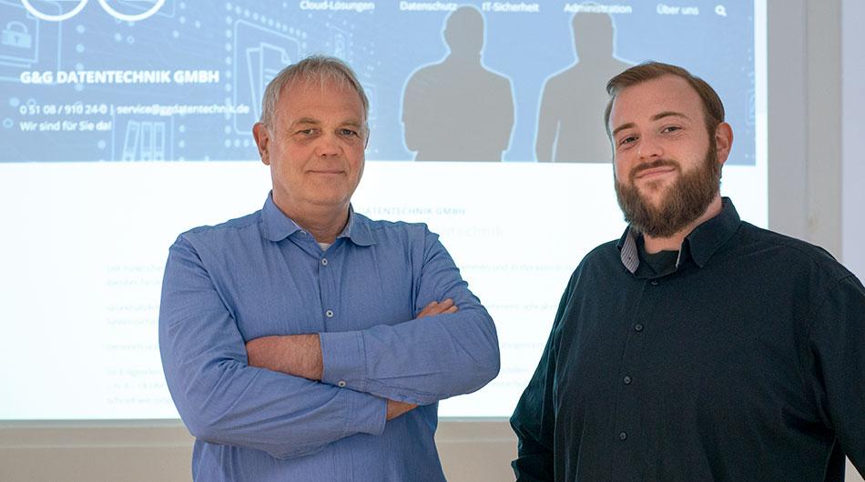 Michael und Tim Geisthardt